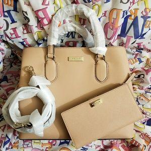 KATE SPADE Laurel Evangelie Bag & Stacy Wallet NWT